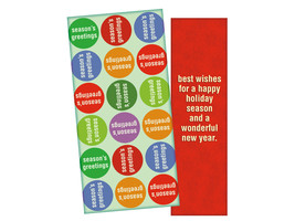 A Happy Holiday Season ~ Christmas Holiday Gift Card or Money Holder - $5.00+