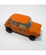 Vintage 1973 Zee Toys Zylmex D40 Orange Mini Minor Cooper Diecast Car -H... - $5.99