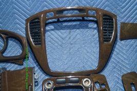 01-07 Toyota Highlander Woodgrain Dash Trim Kit Vents Console 8pc image 3