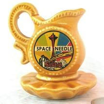 Seattle 1962 Worlds Fair Space Needle Vtg Souvenir Mini Pitcher Japan Ce... - $19.30
