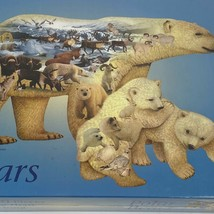 National geographic polar bear 1000 piece shaped puzzle new - $25.95
