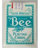 Playing Cards Bee Diamond Back Club Special Cambric Finish Harrahs Cardb... - $5.89