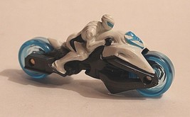 "McDonald's Max Steel #4 TURBOFIED CYCLE  Toy 2014 Motorcycle Cake Topper 4"" 090 - $6.69"