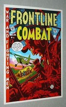 Original 1970's EC Comics Frontline Combat 11 war comic book cover art poster - $29.99