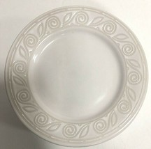"""Gibson Designs """"AMARETTO"""" Set of 4 Salad Plates Oven Safe Embossed 7 7/8"""" - $24.74"""