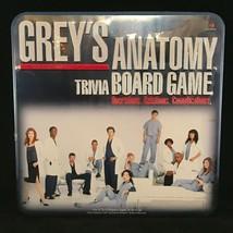 Grey's Anatomy Trivia Board Game Tin 2007 Cardinal 100% Complete Brand New - $79.20