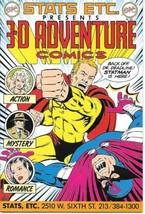 3-D Adventure Comics Comic Book #1 Statts Etc. 1986 NEAR MINT NEW UNREAD - $3.99