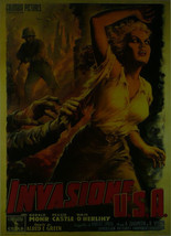 Invasion U.S.A. (2) (French) - Gerard Mohr - Movie Poster - Framed Picture 11 x  - $32.50