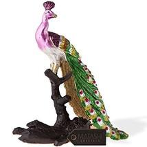 Matashi Peacock on a Perch Ornament Multicolored - $56.76