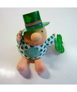 Vintage 1994 St. Patrick's Day Top o' the Morning to You! Plush Irish Zi... - $11.50