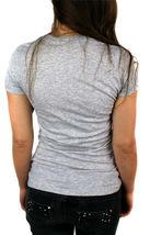 NEW NWT LEVI'S WOMEN'S PREMIUM CLASSIC GRAPHIC COTTON T-SHIRT SHIRT TEE GRAY image 4