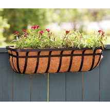 Panacea Black Window Planter 30 Inch 093432885574 - $50.38