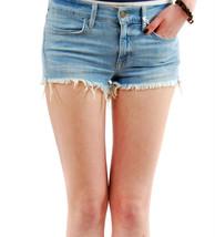 Wildfox Womens Lara 2 Mid Rise Cut Off Felicity Denim Shorts Blue - $36.42