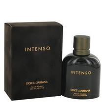 Dolce & Gabbana Intenso Cologne By Dolce & Gabbana 4.2 oz Eau De Parfum Spray Fo - $59.53