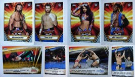 2019 Topps WWE Summerslam Blue Silver Parallel Wrestling Cards SP Pick F... - $4.99+