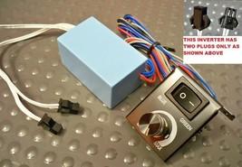 12 Volt universal 2 two plug plugs EL Glow gauges Power Inverter transfr... - $9.89