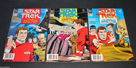 3 1989-90 DC Comics STAR TREK 10, 11, 12 FINE Comic Books TRIAL OF JAMES... - $11.99