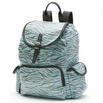 Candie's Mint Sequin Zebra Print Backpack Bookbag School Bag - NWT - $56.34