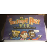 Scavenger Hunt for Kids Indoor Search Board Game by University Games NEW... - $11.78