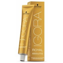 Schwarzkopf Igora Royal Permanent Hair Color Absolutes 2oz/60ml (4-50) - $10.46