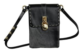 Michael Kors MK Women's Leather Purse Belt Fanny Pack Bag Size M New /w Defect