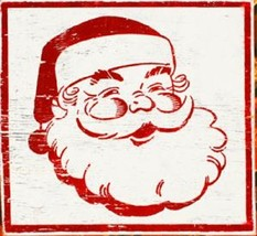 Holiday Rustic Wooden Sign - Santa Claus - Approx 16 x 18 - Item 5652 ** - $50.00
