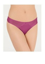 INC Smooth Lace Thong Size Large Hyacinth Violet - NWT - $8.95