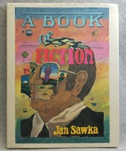 A BOOK OF FICTION ~ SIGNED FIRST EDITION ~ JAN SAWKA Hardcover Dust Jack... - $21.49
