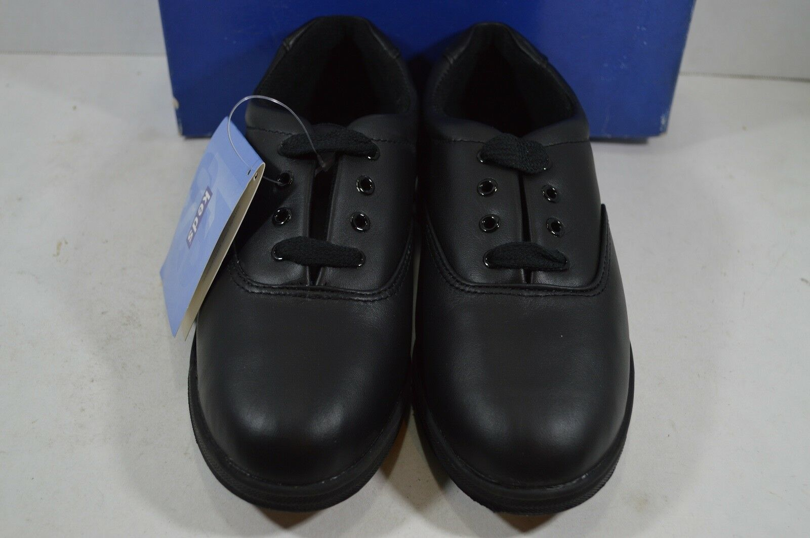 Vintage 90s New Keds Womens 10 Champion Walker Leather Lace Up Shoes Black