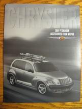 2001 Chrysler PT Cruiser Accessories ORIGINAL Prestige Brochure Mopar - $8.89
