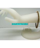 Jewelry By Two Gems (B53aa) Brass Byzantine Bracelet - $40.00
