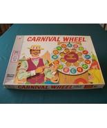Carnival Wheel Game Milton Bradley 1973 Complete - $12.00