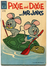 Pixie and Dixie and Mr Jinks 1196 VF- 7.5 Dell Four Color 1961 Hanna Bar... - $19.79