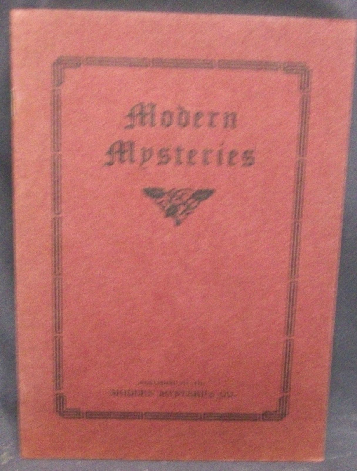 Modern Mysteries by Hines, G.C.