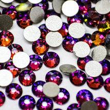 Swarovski crystals MERIDIAN / VOLCANO BLUE flat back stones gems rhinestone - $1.99