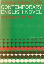 The Contemporary English Novel by Karl, Frederick R.  - $6.99
