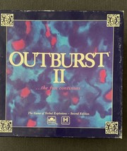 Vintage 1991 OUTBURST II Game of Verbal Explosions~New Open Box - $11.88
