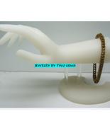 Jewelry By Two Gems (B55) Brass Box Bracelet - $40.00