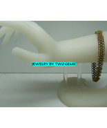 Jewelry By Two Gems (B58a) Brass Chainmaille European Bracelet - $40.00