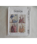 McCall's 4794 Purses Laura Ashley- Handbags and Hat Sewing Pattern purse... - $10.00