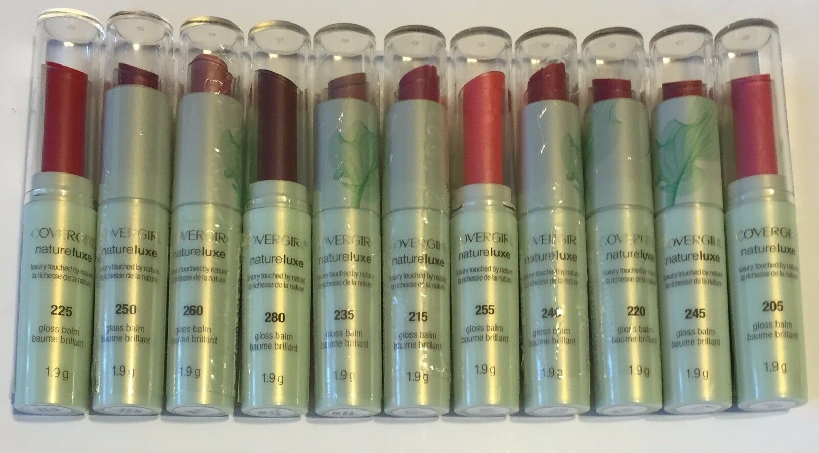 Primary image for Covergirl Natureluxe Lip Gloss Balm Lipstick *Choose your shade* NEW SEALED