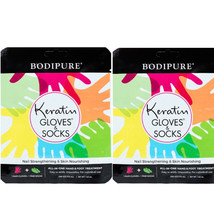Bodipure Keratin Gloves and Socks Skin Nourishing Hand & Foot Treatment ... - $18.99