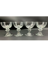 "Heisey CRYSTOLITE Liquor Cocktail Glass 3-5/8"" Tall 2-1/2/3 oz SET OF 4 ... - $36.05"
