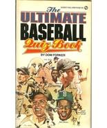 1981 the ultimate baseball quiz book dom forker sandy koufax hank aaron ... - $4.99