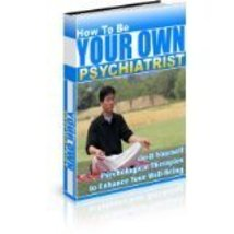 How To Be Your Own Psychiatrist audio/self help 2 cd How To Be Your Own ... - $4.89