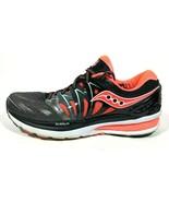 Saucony Hurricane ISO Series 2 Black Pink Womens 11 Running Shoe Everun ... - $35.72