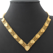 Necklaces Item heart shape 18K Real Gold Plated Quality Gift MGC N233 - $22.99