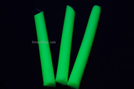 3 Pack GREEN Blacklight Reactive Drip Candles image 1