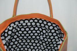 Mainstreet Spring Collection HBCH3903 Charleston Handbag Color Tangerine image 3