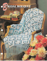Bridal Bouquet Afghan Crochet Pattern Annies Attic Crochet & Quilt Club - $8.50